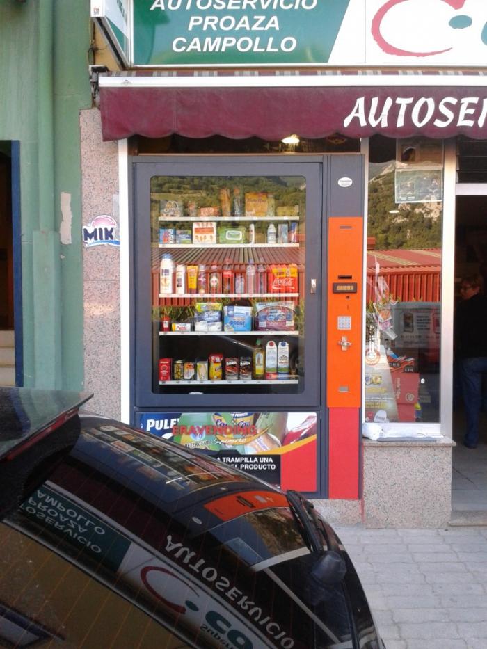 Supermercado Automatico en Proaza - Asturias